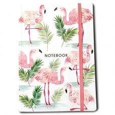 NB001 Flamingo A5 Notebook
