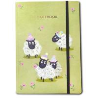 NB003 Sheep A5 Notebook