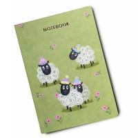 NB023 Sheep A6 Notebook