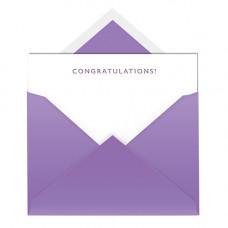NC009 Congratulations Notecard & Envelope (Single)