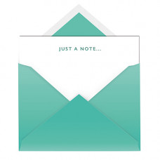 NC010 Just A Note .... Notecard & Envelope (Single)