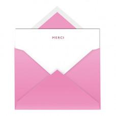 NC014 Merci Notecard & Envelope (Single)