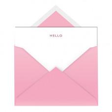 NC015 Hello Notecard & Envelope (Single)