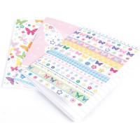 RBS78 Set of 3 Mini Notebooks (Butterflies)