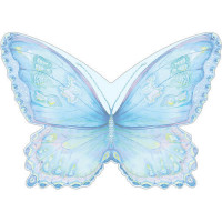RBS35 Blue Butterfly Jotter Pad