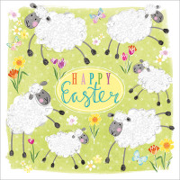 FP6161 Happy Easter Lambs