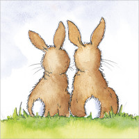 FP5015 Two Bunnies