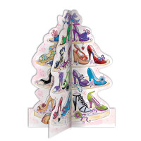 A096B Tower of Shoes (3D)